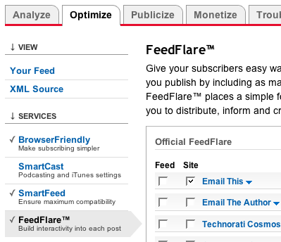 FeedBurner FeedFlare email this