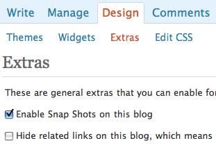 come abilitare la funzione dei post correllati su WP.com